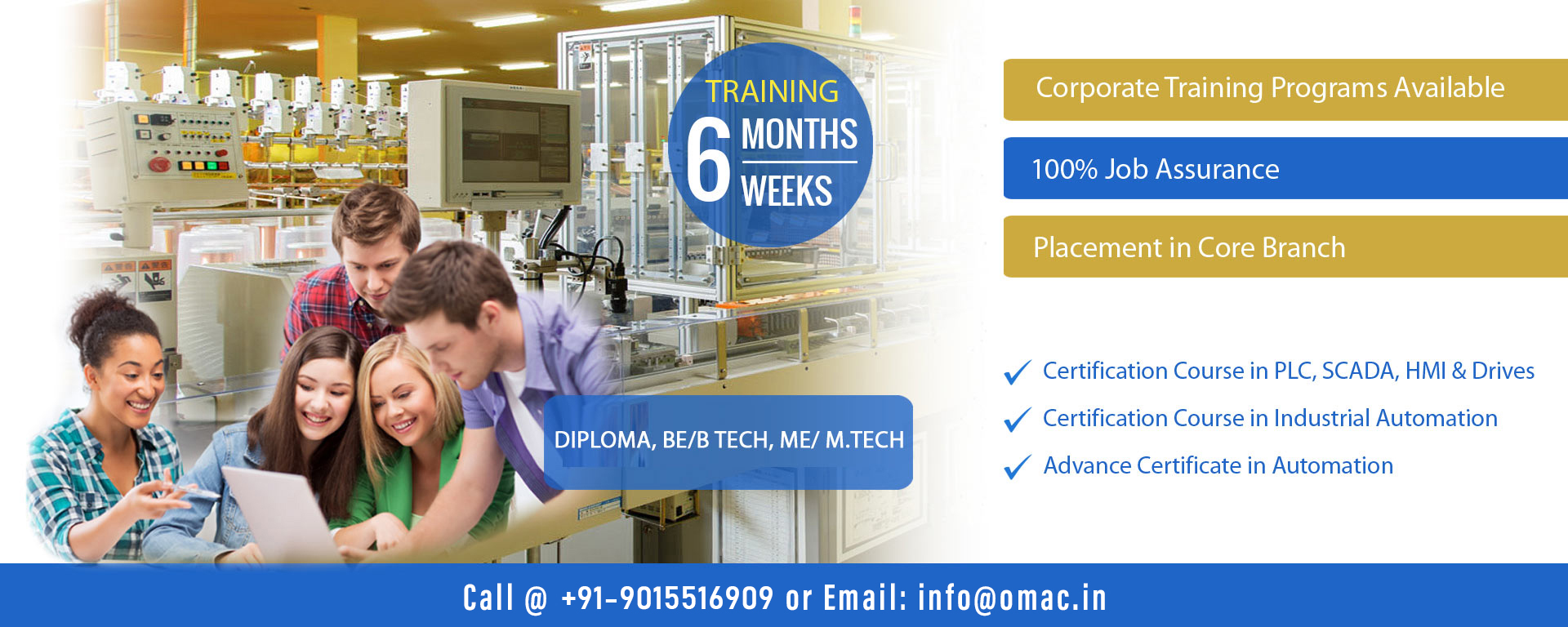 Automation training institute in noida